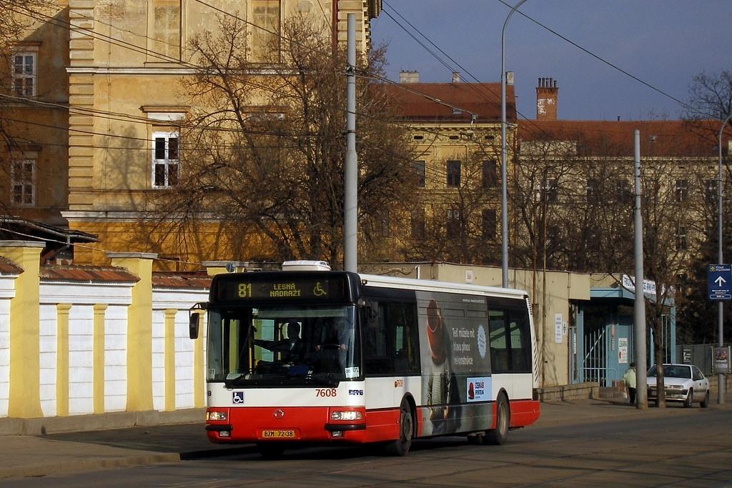 Fotogalerie » Irisbus Citybus 12M 2071.20 BZM 72-38 7608   Brno   střed   Údolní