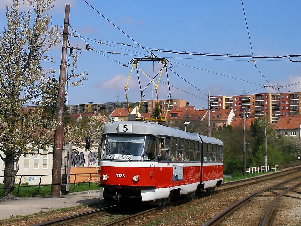 Fotogalerie » ČKD Tatra K2 1083 | Brno | Bohunice