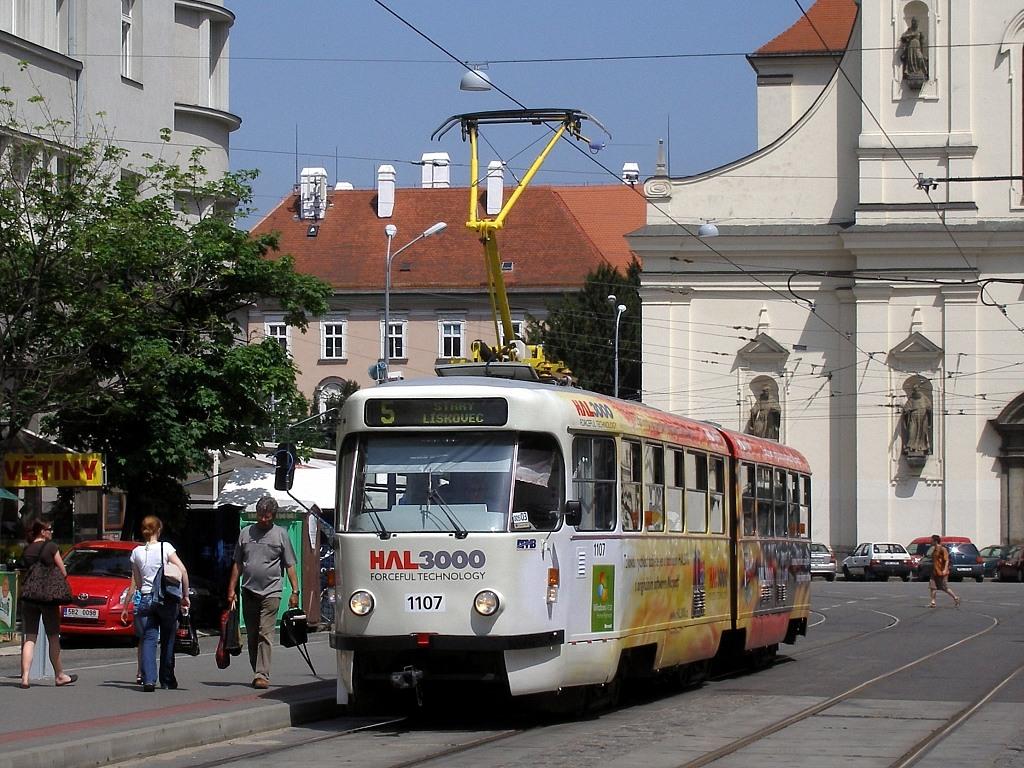 Fotogalerie » ČKD Tatra K2P 1107 | Brno | střed | Joštova | Česká