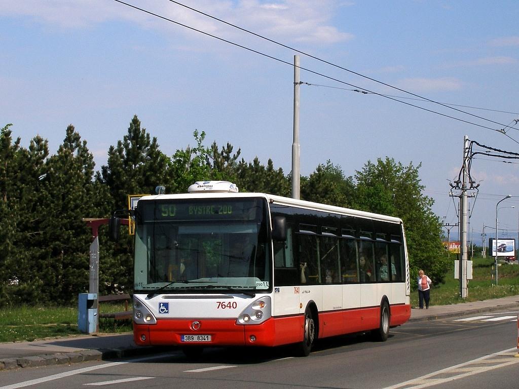 Fotogalerie » Irisbus Citelis 12M 3B9 8341 7640 | Brno | Kohoutovice | Libušina třída | Jírovcova