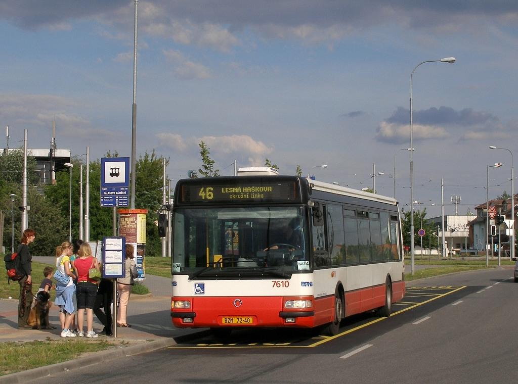 Fotogalerie » Irisbus Citybus 12M 2071.20 BZM 72-40 7610   Brno   Lesná   Okružní   Halasovo Náměstí