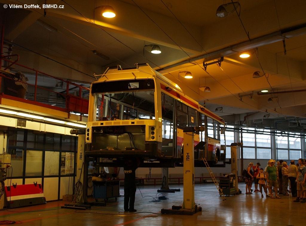 Fotogalerie » Škoda 21TrAC 3058 | Brno | Komín | vozovna Komín