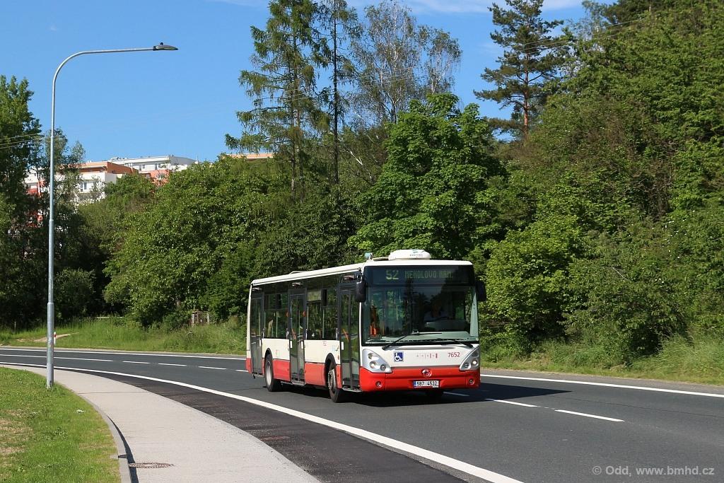 Fotogalerie » Irisbus Citelis 12M 5B7 4532 7652 | Brno | Žebětín | Hostislavova