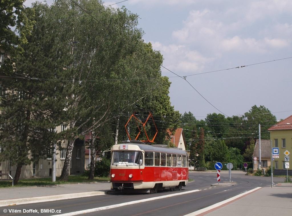 Fotogalerie » ČKD Tatra T3 1525 | Brno | Maloměřice | Maloměřický most