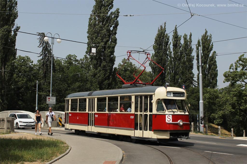 Fotogalerie » Tatra T2 1435 | Brno | Maloměřice | Dolnopolní