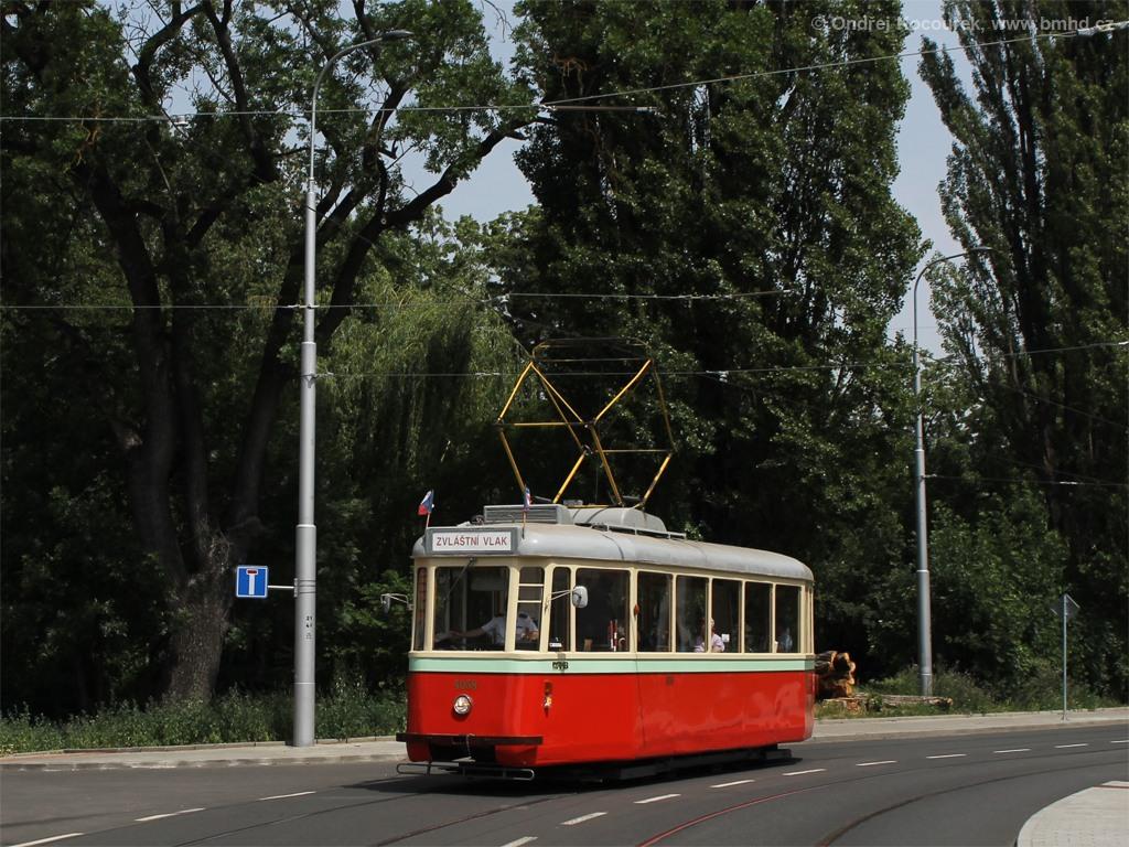 Fotogalerie » SBEPD 4MT4 4058 | Brno | Husovice | Valchařská