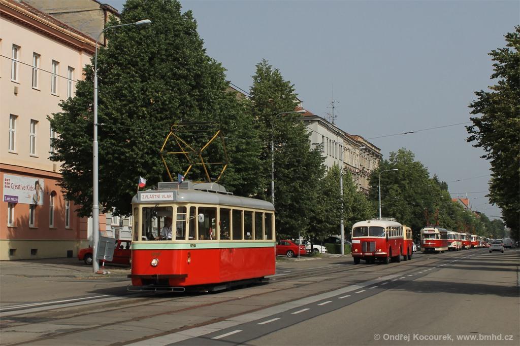 Fotogalerie » SBEPD 4MT4 4058 | Brno | Královo Pole | Štefánikova