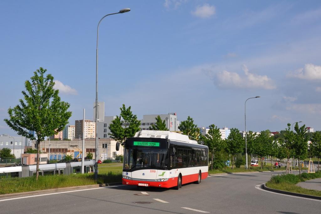 Fotogalerie » Škoda 26Tr 3310 | Brno | Medlánky | Purkyňova