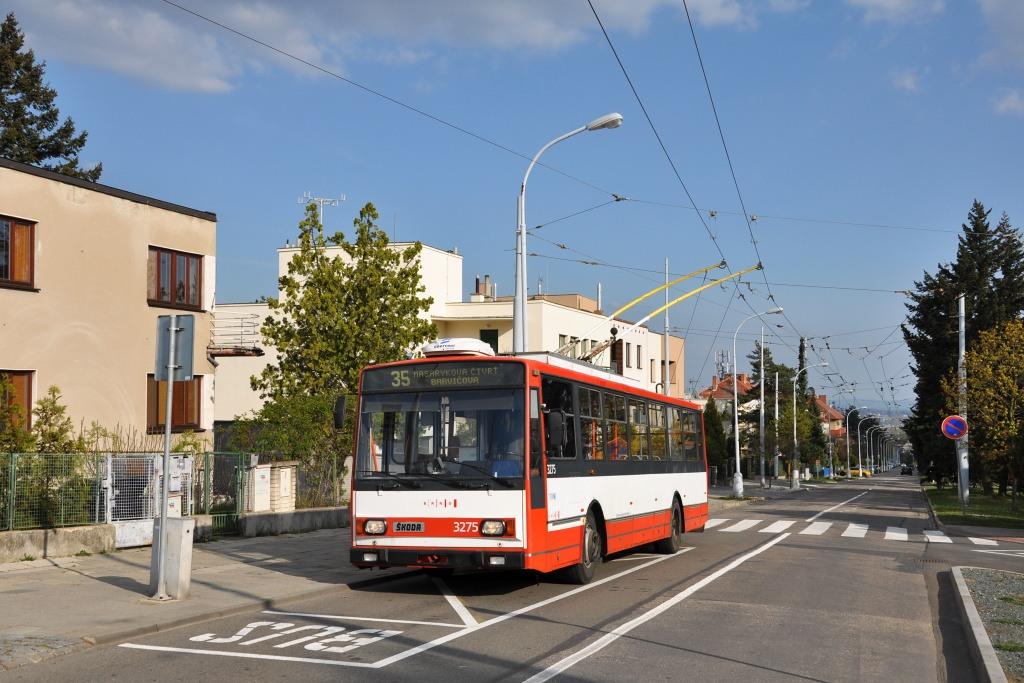 Fotogalerie » Škoda 14Tr17/6M 3275 | Brno | Masarykova čtvrť | Barvičova | Barvičova