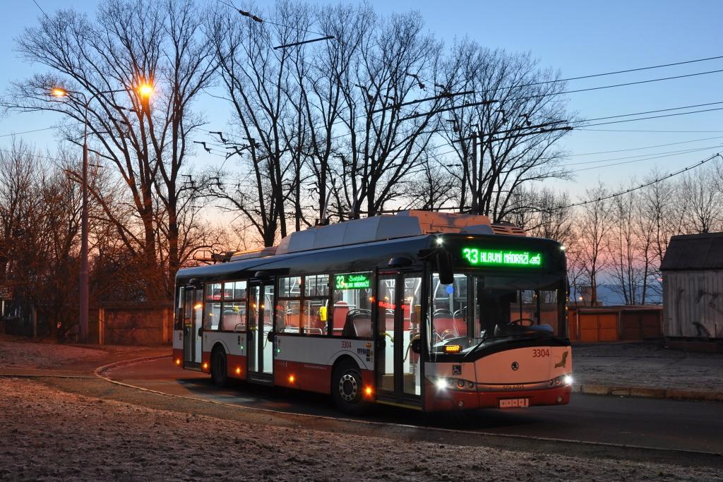 Fotogalerie » Škoda 26Tr 3304 | Brno | Slatina | Mikulčická | Slatina sídliště