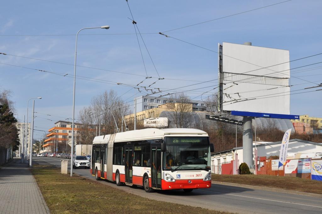 Fotogalerie » Škoda 25Tr Citelis 1B 3617   Brno   Husovice   Provazníkova