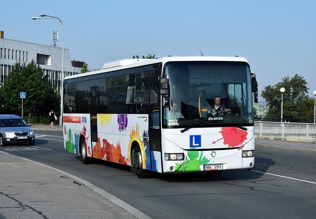 Fotogalerie » Irisbus Crossway 12M 8B4 3153 5331   Brno   Starý Lískovec   Osová