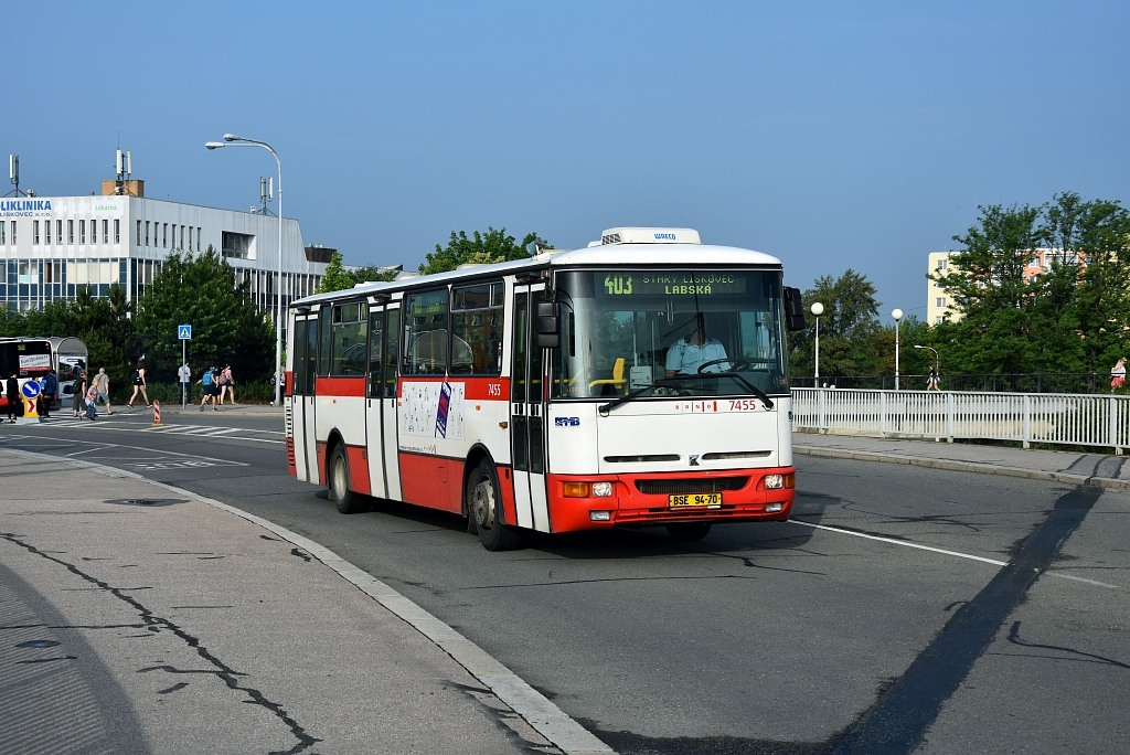 Fotogalerie » Karosa B931E.1707 BSE 94-70 7455 | Brno | Starý Lískovec | Osová