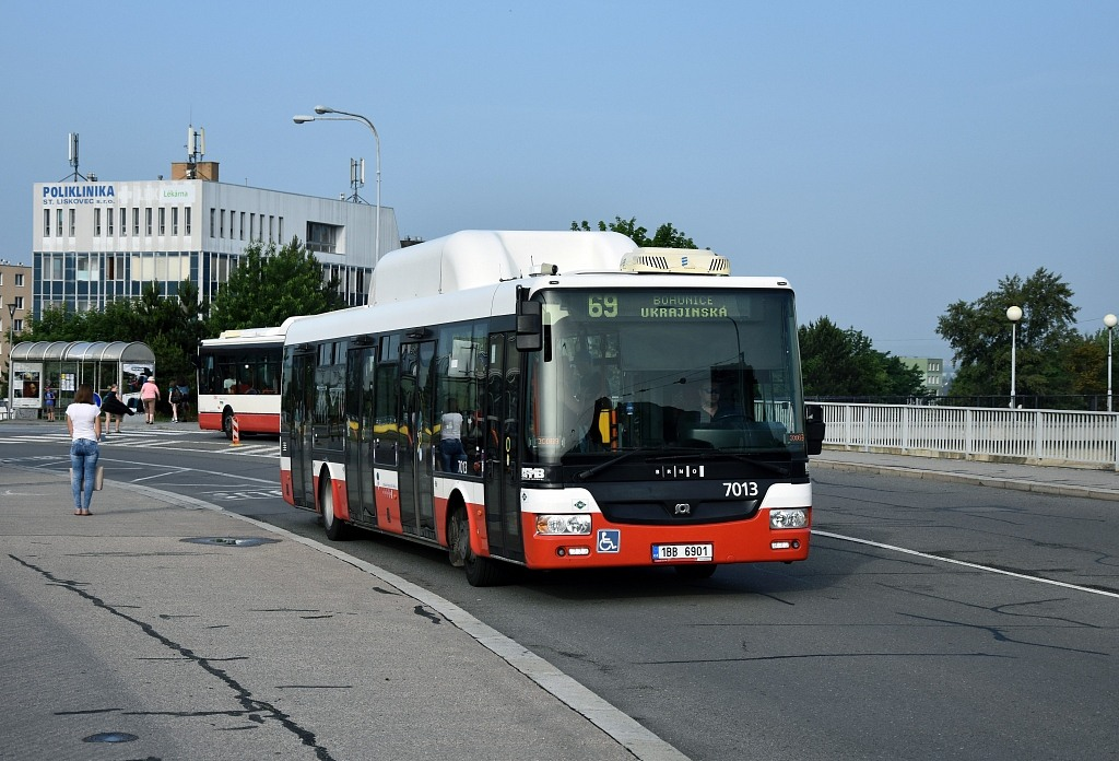 Fotogalerie » SOR NBG 12 1BB 6901 7013 | Brno | Starý Lískovec | Osová