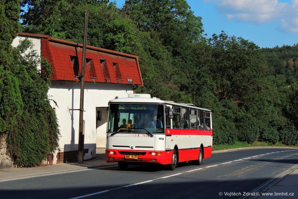 Fotogalerie » Karosa B931E.1707 BSE 94-70 7455 | Brno | Kohoutovice | Žebětínská