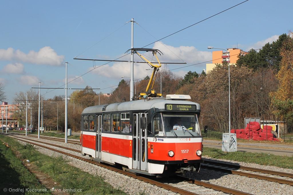 Fotogalerie » Pragoimex T3R.PV 1517 | Brno | Židenice | Ostravská