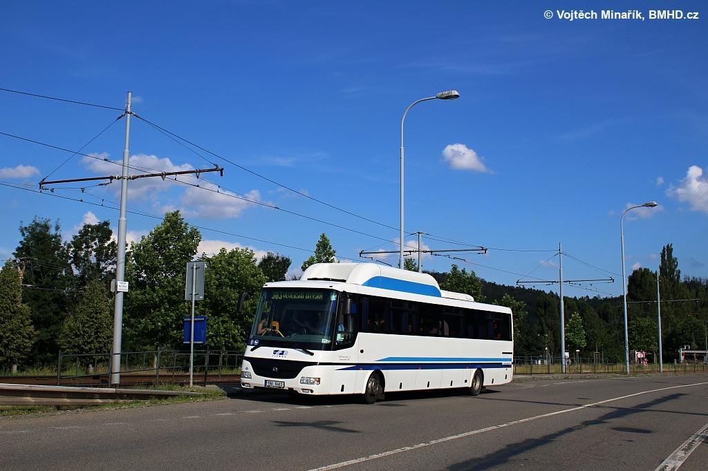 Fotogalerie » SOR CG 12 1BA 9463 | Brno | Bystrc | Obvodová | Zoologická zahrada