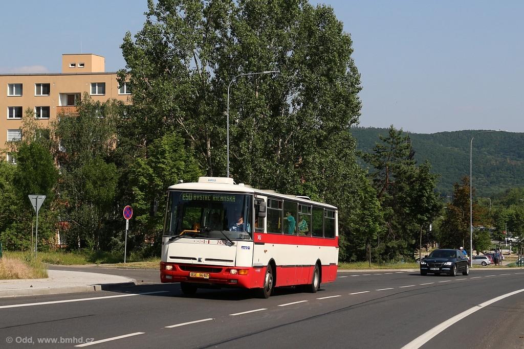 Fotogalerie » Karosa B931E.1707 BSE 94-67 7452 | Brno | Bystrc | Vejrostova
