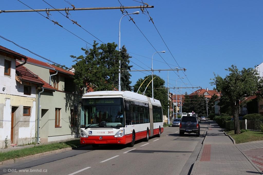 Fotogalerie » Škoda 25Tr Citelis 1B 3611 | Brno | Slatina | Tilhonova