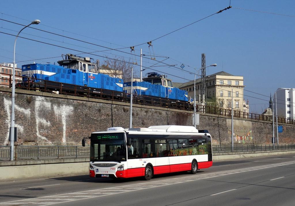 Fotogalerie » Iveco Urbanway 12M CNG 1BC 7550 7100 | Brno | střed | Koliště