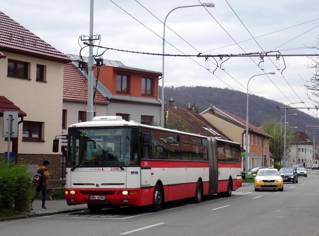 Fotogalerie » Karosa B961E.1970 6B4 4392 2376 | Brno | Komín | Hlavní | Podveská