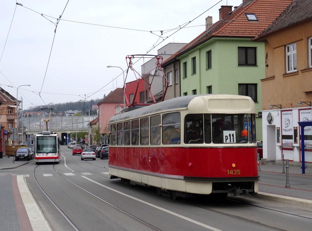Fotogalerie » Tatra T2 1435 | Brno | Žabovřesky | Burianovo náměstí | Burianovo náměstí