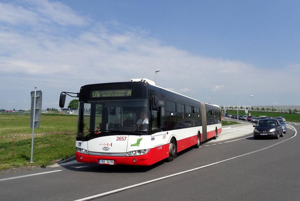 Fotogalerie » Solaris Urbino 18 III 1BA 0419 2657   Brno   Tuřany   Evropská   Letiště, logistický areál