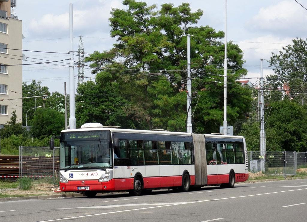 Fotogalerie » Irisbus Citelis 18M 6B2 2460 2618 | Brno | Líšeň | Novolíšeňská