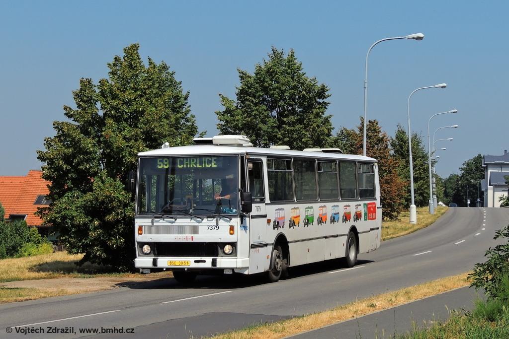 Fotogalerie » Karosa B732.1654.3 BSC 39-51 7379 | Brno | Chrlice | Rebešovická