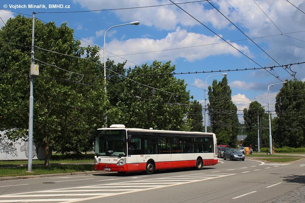 Fotogalerie » Irisbus Citelis 12M 6B6 6842 7666 | Brno | Bystrc | Odbojářská
