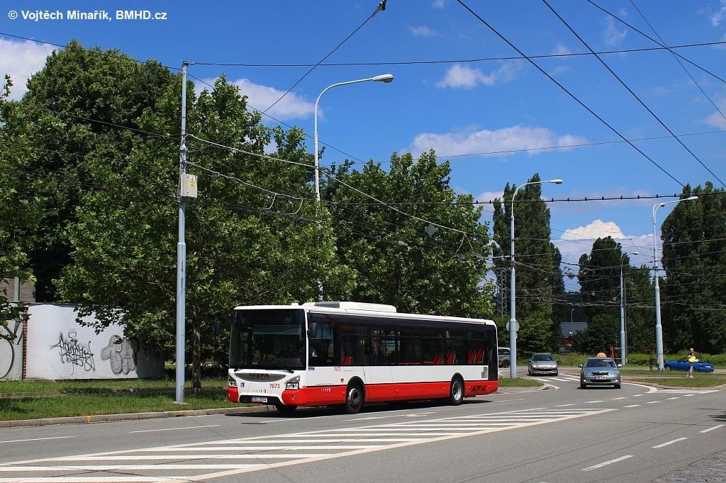 Fotogalerie » Iveco Urbanway 12M 2BC 9744 7673 | Brno | Bystrc | Odbojářská