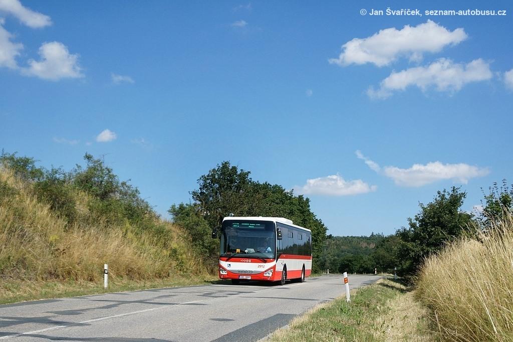 Fotogalerie » Iveco Crossway LE LINE 12M 2BD 9892 2912 | Veverská Bítýška | U Matky Boží
