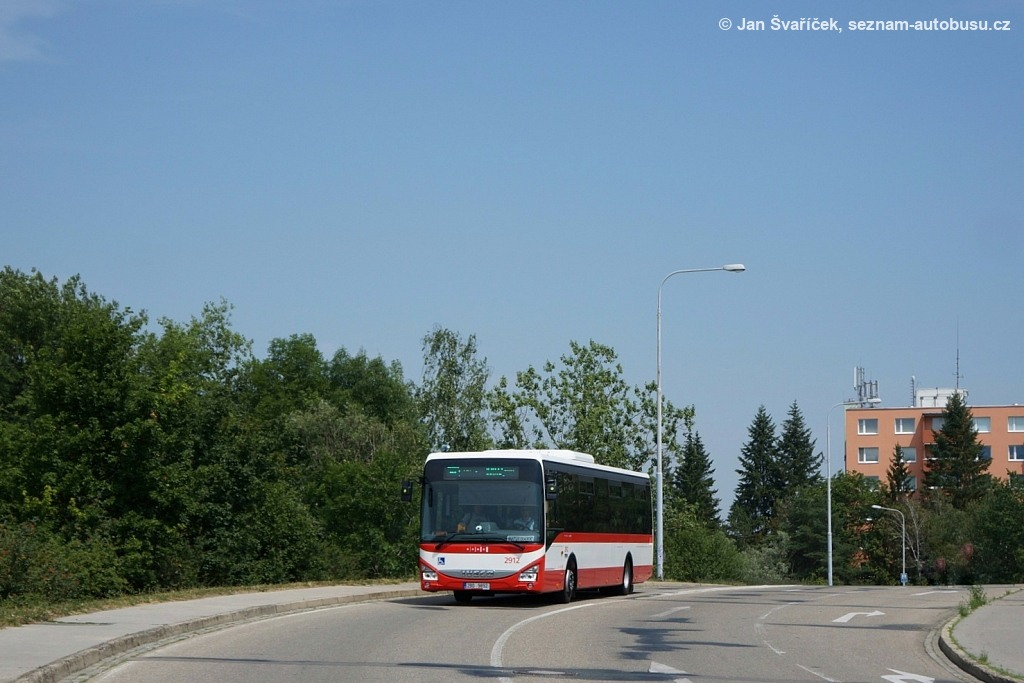 Fotogalerie » Iveco Crossway LE LINE 12M 2BD 9892 2912   Brno   Bystrc   Obvodová