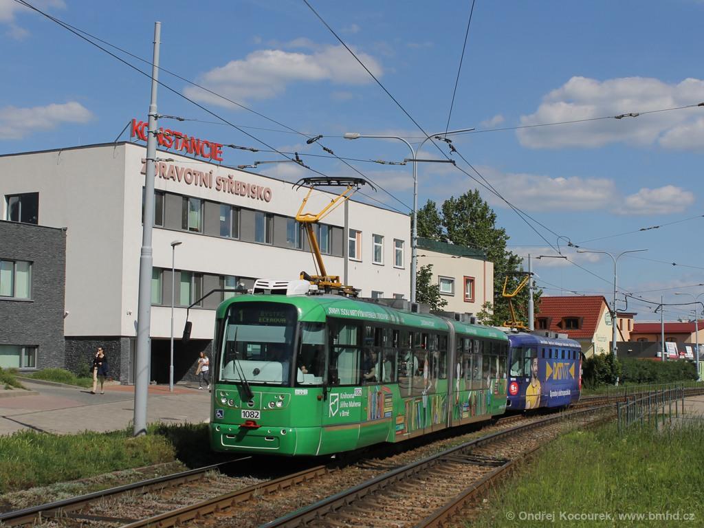 Fotogalerie » Pragoimex VarioLF2R.E 1082 | Pragoimex VarioLFR.E 1601 | Brno | Komín | Kníničská