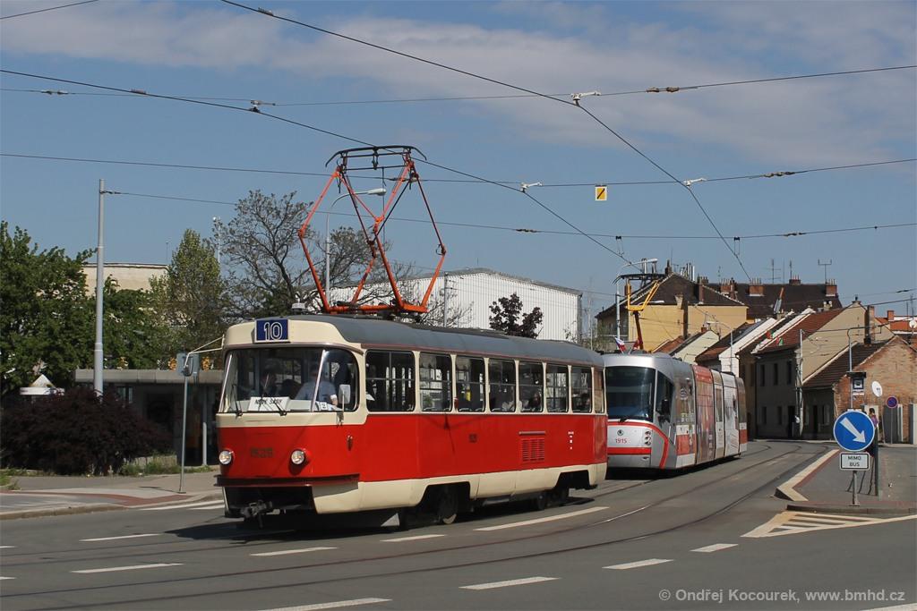 Fotogalerie » ČKD Tatra T3 1525 | Brno | Černovice | Olomoucká