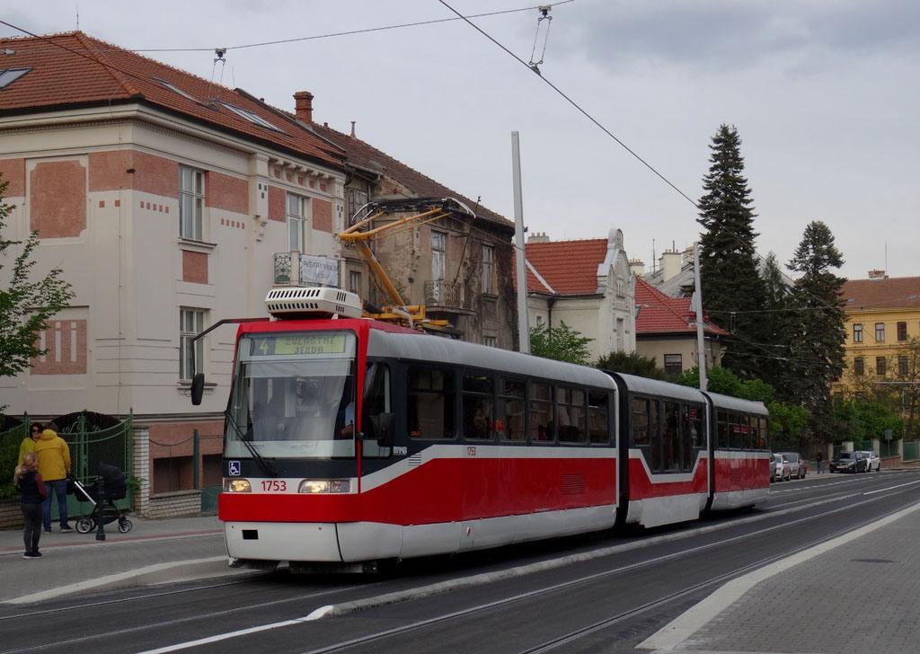 Fotogalerie » Pars Nova K3R-N 1753 | Brno | Masarykova čtvrť | Údolní | Všetičkova