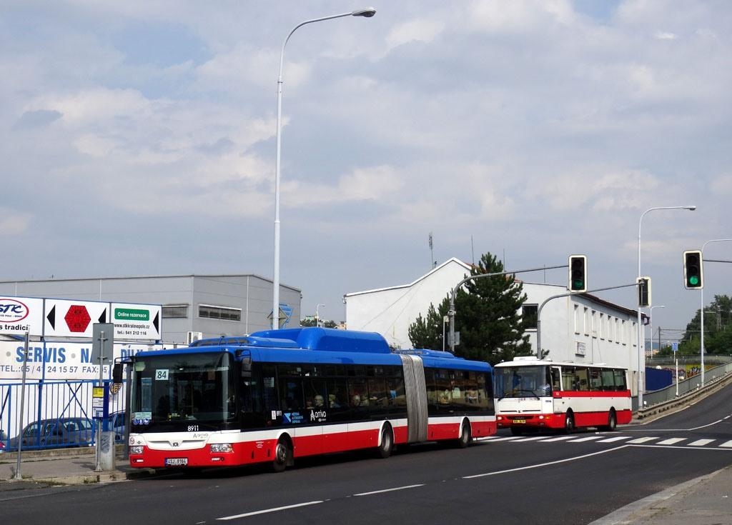 Fotogalerie » SOR NBG 18 4SJ 8164 2723 | Brno | Královo Pole | Křižíkova | Kociánka