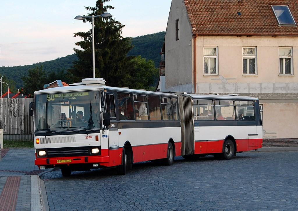 Fotogalerie » Karosa B741.1924 BSC 50-43 2330 | Brno | Bystrc | Zoologická zahrada