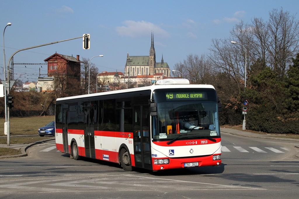 Fotogalerie » Irisbus Crossway LE 12M 7B3 3923 7813 | Brno | Trnitá | Opuštěná