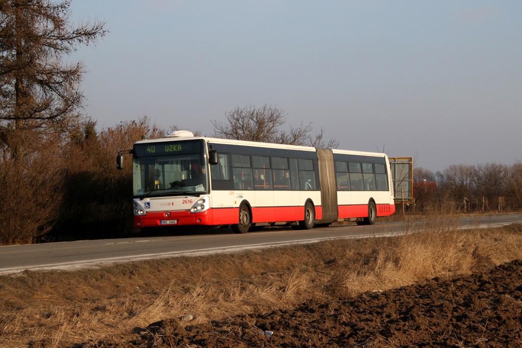 Fotogalerie » Irisbus Citelis 18M 6B2 2462 2616 | Brno | Tuřany | Sokolnická