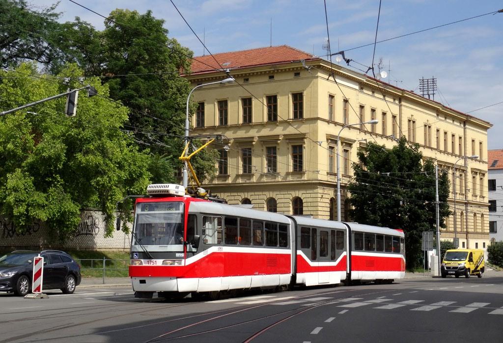 Fotogalerie » Pars Nova K3R-N 1751 | Brno | Husovice | Vranovská
