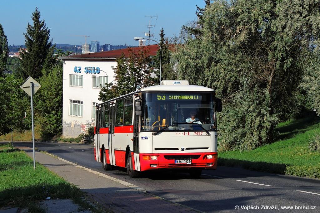 Fotogalerie » Karosa B931E.1707 8B6 1923 7457 | Brno | Lesná | Třískalova