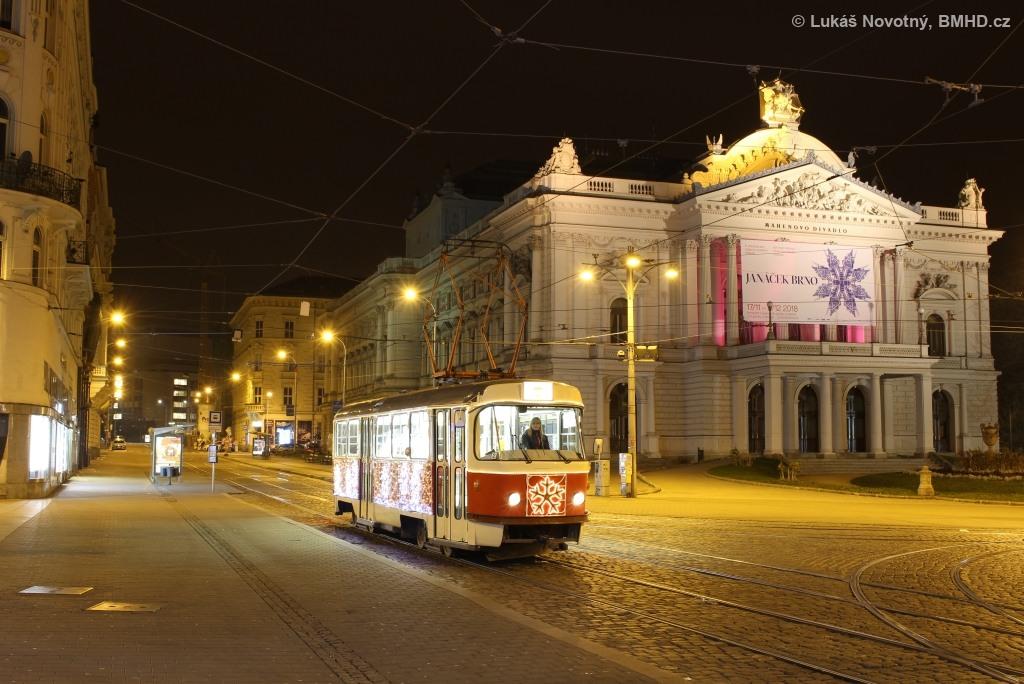 Fotogalerie » ČKD Tatra T3 1525 | Brno | střed | Malinovského náměstí | Malinovského náměstí