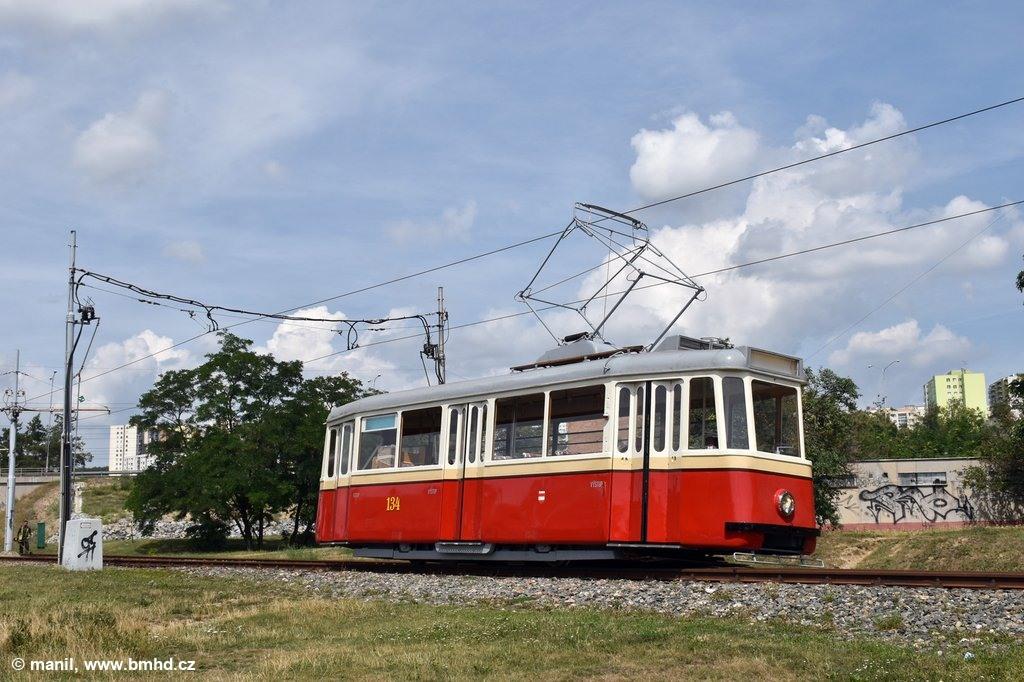 Fotogalerie » KPS Brno 4MT2 134 | Brno | Starý Lískovec | Jemelkova