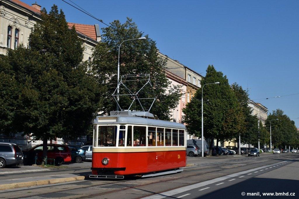 Fotogalerie » KPS Brno 4MT2 134 | Brno | Ponava | Štefánikova | Hrnčířská