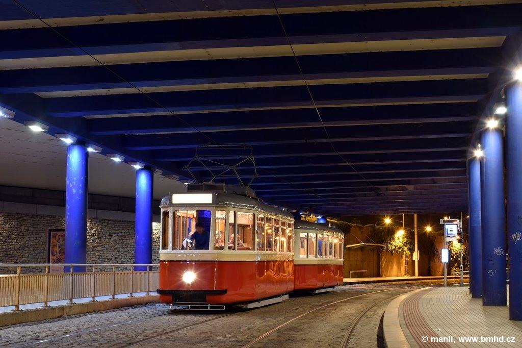 Fotogalerie » KPS Brno 4MT2 134 | KPS Brno vv4 313 | Brno | Pisárky | Pisárky