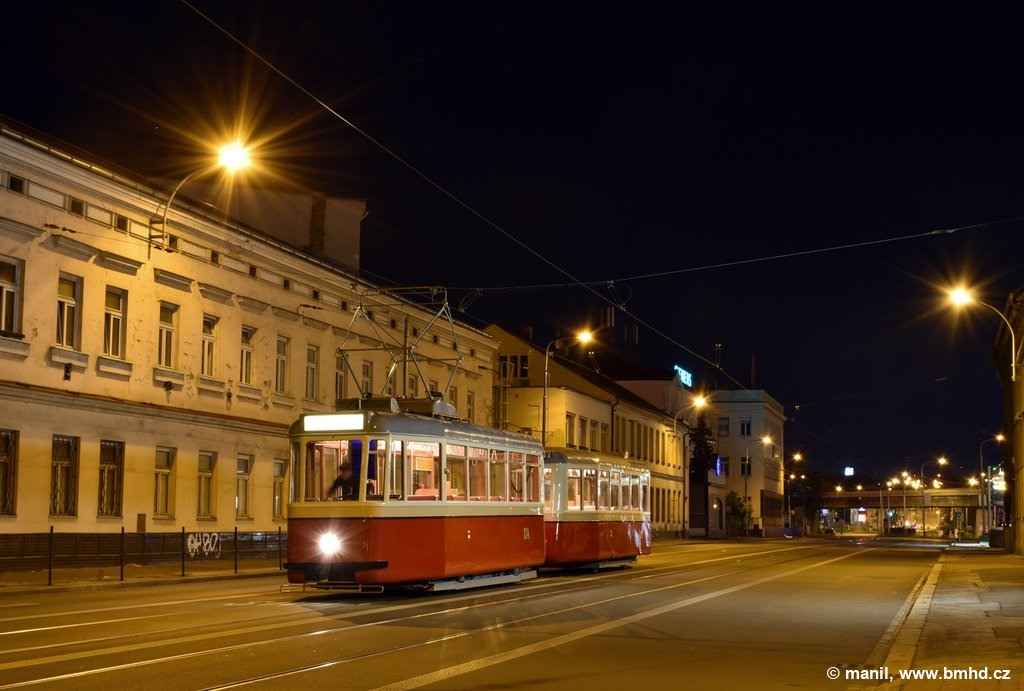 Fotogalerie » KPS Brno 4MT2 134 | KPS Brno vv4 313 | Brno | Černovice | Olomoucká