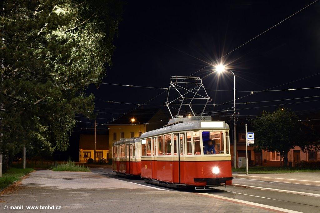 Fotogalerie » KPS Brno 4MT2 134 | 313 | Brno | Maloměřice | Dolnopolní | Maloměřický most
