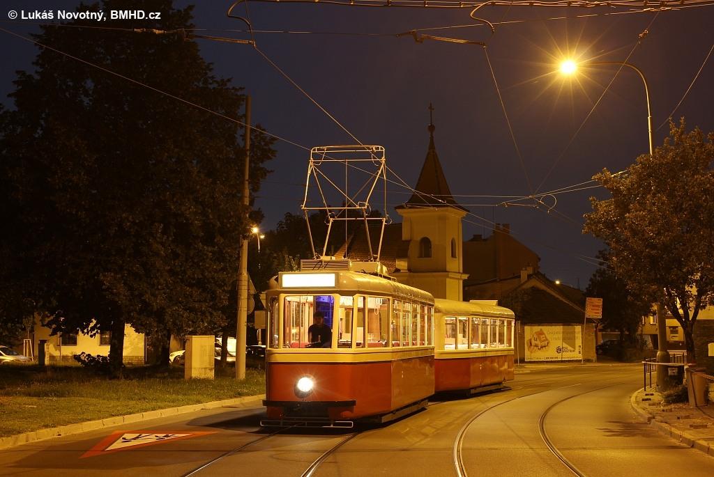Fotogalerie » KPS Brno 4MT2 134 | KPS Brno vv4 313 | Brno | Obřany | Obřanská