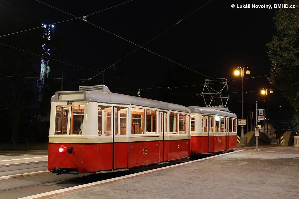 Fotogalerie » KPS Brno 4MT2 134 | KPS Brno vv4 313 | Brno | Maloměřice | Dolnopolní | Maloměřický most